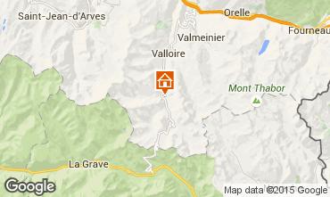 Mapa Valloire Apartamentos 3378