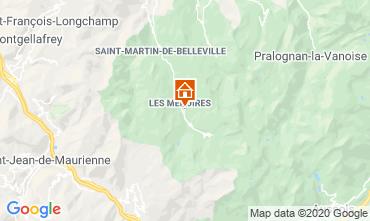 Mapa Les Menuires Estúdio 15243
