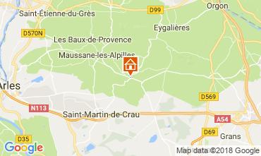 Mapa Les Baux de Provence Casa de turismo rural/Casa de campo 114985