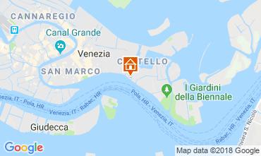Mapa Veneza Apartamentos 86011