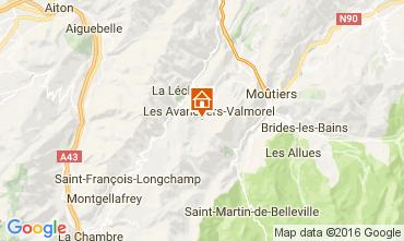 Mapa Valmorel Apartamentos 73329