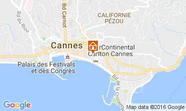 Mapa Cannes Estúdio 106890