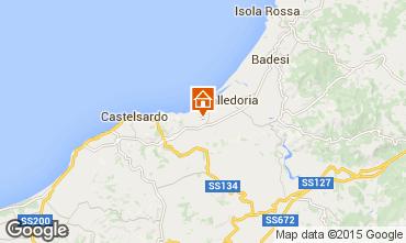 Mapa Valledoria Apartamentos 69703