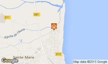 Mapa Sainte Marie la Mer Casa 95030