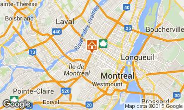 Mapa Montreal Apartamentos 66125