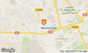 Mapa Marraqueche Apartamentos 70577