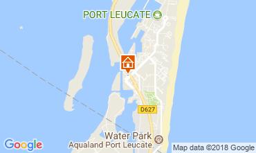 Mapa Port Leucate Apartamentos 115923
