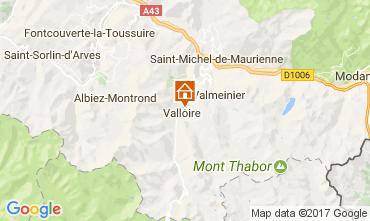 Mapa Valloire Apartamentos 3411