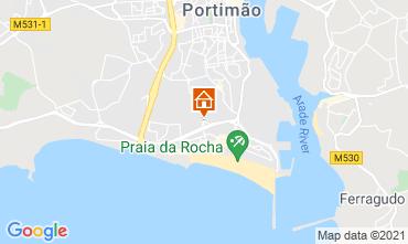 Mapa Praia da Rocha Apartamentos 70339