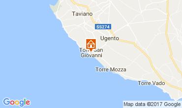 Mapa Ugento - Torre San Giovanni Apartamentos 108671