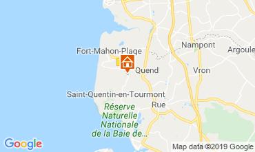 Mapa Quend Praia Mobil Home 112468