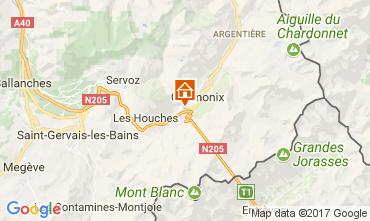 Mapa Chamonix Mont-Blanc Apartamentos 647