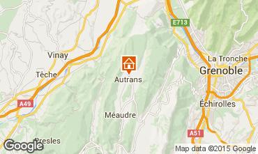 Mapa Autrans Est�dio 43568