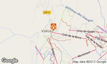 Mapa Valloire Apartamentos 63867