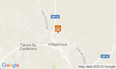 Mapa Villasimius Apartamentos 114820