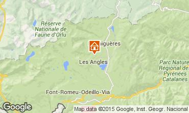 Mapa Les Angles Casa de turismo rural/Casa de campo 4819