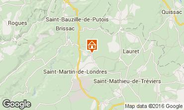 Mapa Montpellier Casa 102702