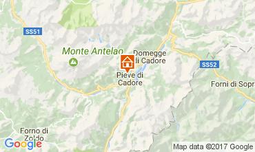 Mapa Cortina d'Ampezzo Apartamentos 105108