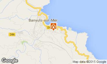 Mapa Banyuls-sur-Mer Apartamentos 94634