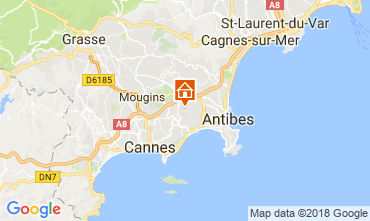 Mapa Antibes Estúdio 113744