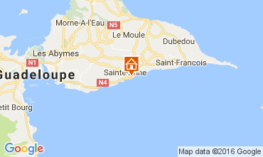 Mapa Sainte Anne (Guadalupe) Casa 106474