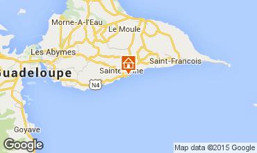 Mapa Sainte Anne (Guadalupe) Apartamentos 8021