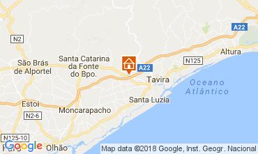 Mapa Tavira Casa de turismo rural/Casa de campo 113317