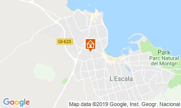 Mapa L'escala Apartamentos 118570