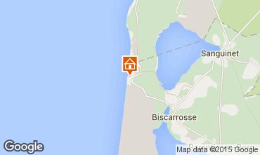 Mapa Biscarrosse Vivenda 22968