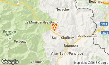 Mapa Serre Chevalier Apartamentos 58839