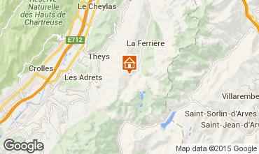 Mapa Les Sept Laux Estúdio 48702