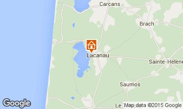 Mapa Lacanau Casa 44203