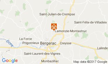 Mapa Bergerac Casa de turismo rural/Casa de campo 107715