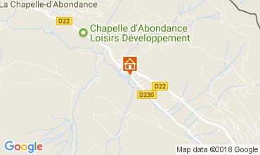 Mapa La Chapelle d'Abondance Chalé 61959