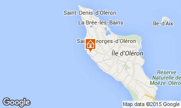 Mapa Saint Georges d'Oléron Casa 81421