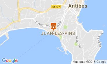Mapa Juan les Pins Apartamentos 113036