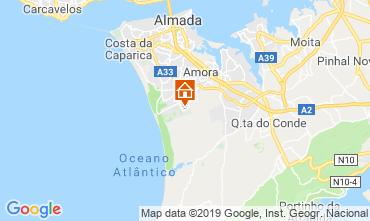 Mapa Costa de Caparica Casa 47227