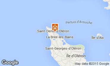 Mapa Saint Denis d'Oléron Vivenda 74637