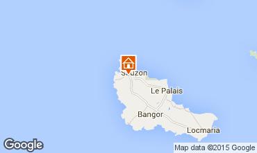 Mapa Sauzon Casa de turismo rural/Casa de campo 27025