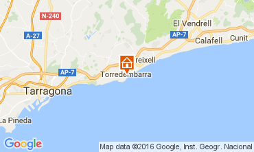 Mapa Torredembarra Estúdio 43383