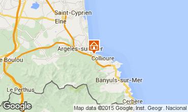 Mapa Argeles sur Mer Casa 91008