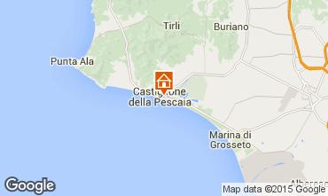 Mapa Castiglione della Pescaia Apartamentos 71855