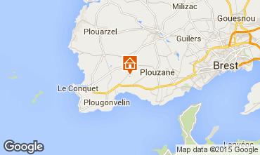 Mapa Locmaria-Plouzané Apartamentos 90722