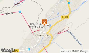 Mapa Chamonix Mont-Blanc Apartamentos 28457