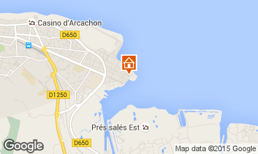 Mapa Arcachon Apartamentos 6626