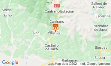 Mapa Jaca Apartamentos 70811