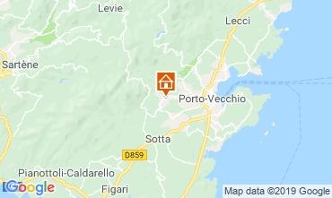 Mapa Porto Vecchio Apartamentos 117888