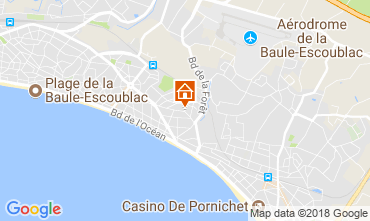 Mapa La Baule Apartamentos 115810