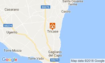 Mapa Santa Maria di Leuca Apartamentos 55406