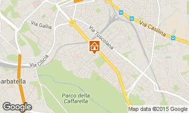Mapa Roma Apartamentos 69902